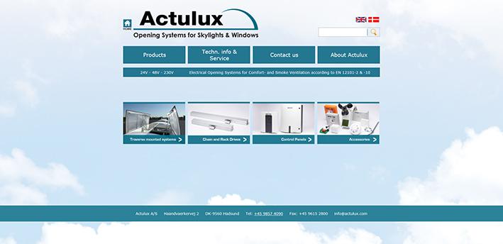 actulux-hjemmeside